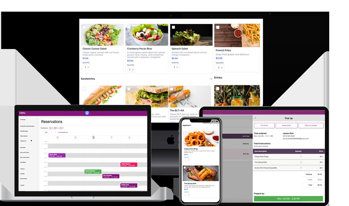 UBMe's Online Ordering Service